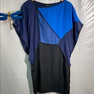 BCBG maxazria colorblock dress